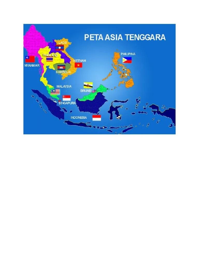 Peta Asia Tenggara : tenggara, Tenggara