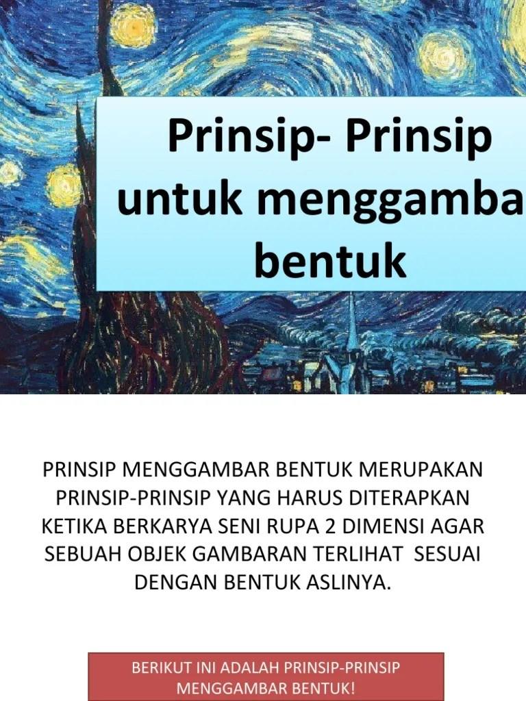 Prinsip Prinsip Menggambar : prinsip, menggambar, Prinsip, Menggambar, Bentuk