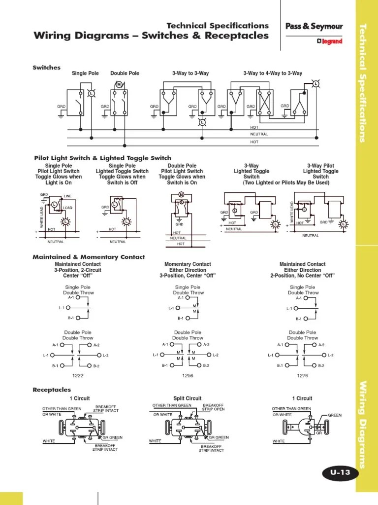 quick wiring diagrams switches receptacles switch electrical wiring [ 768 x 1024 Pixel ]