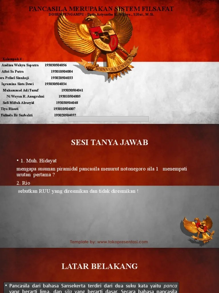 Sebutkan Dasar Hukum Pelaksanaan Otonomi Daerah : sebutkan, dasar, hukum, pelaksanaan, otonomi, daerah, Pancasila
