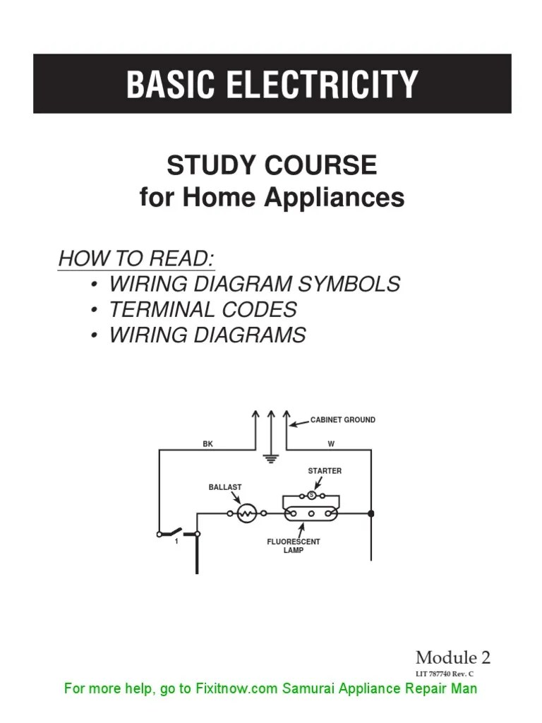 small resolution of appliance wiring diagram symbol