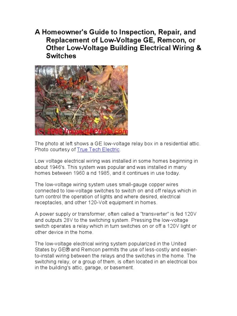 hight resolution of low voltage switch wiring