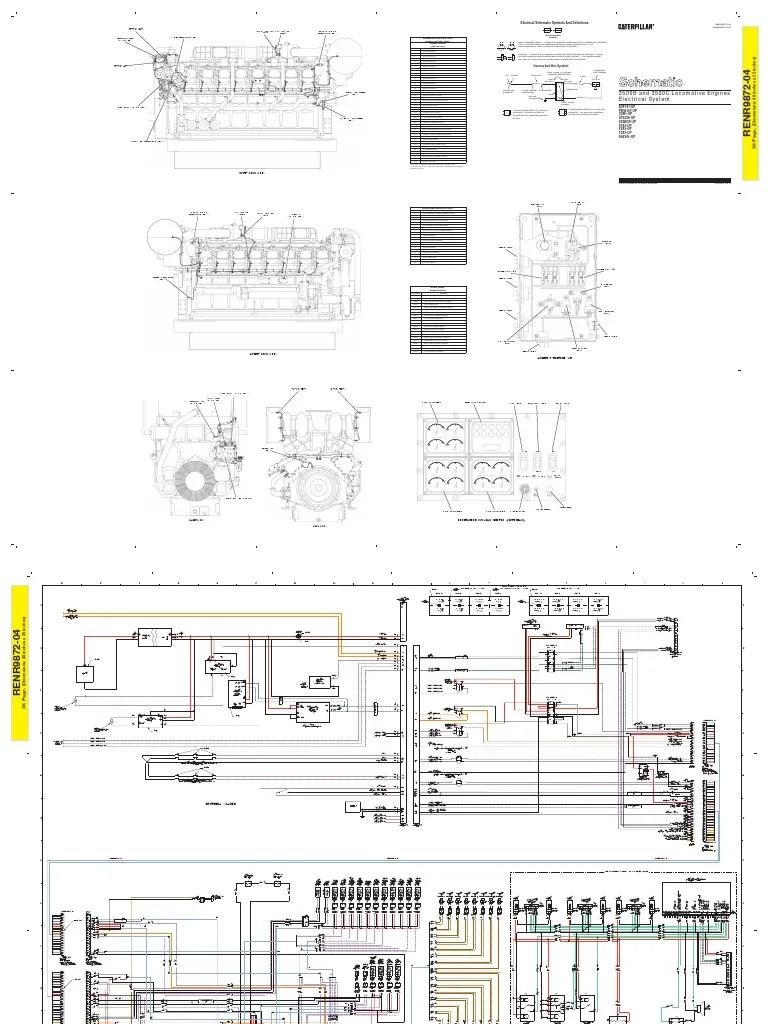 caterpillar wiring schematic engine monitor [ 768 x 1024 Pixel ]