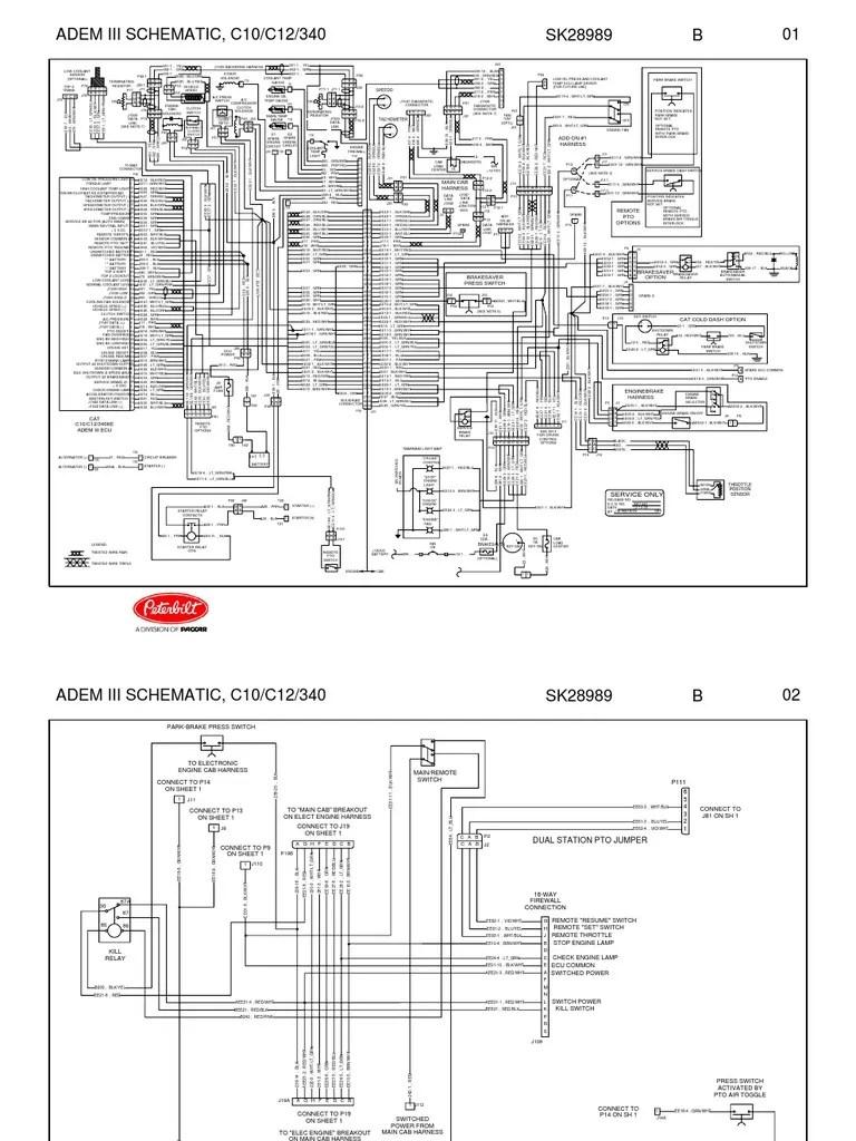 hight resolution of adem iii schematic vehicle technology land vehicles cat adem 3 wiring diagram