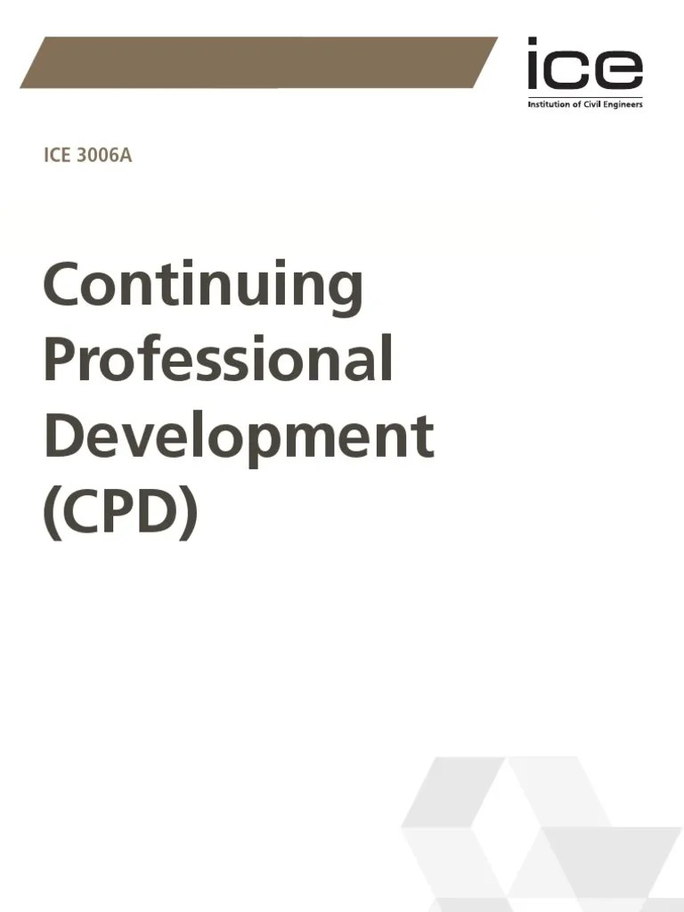 Ice  continuing professional development competence human resources also rh scribd