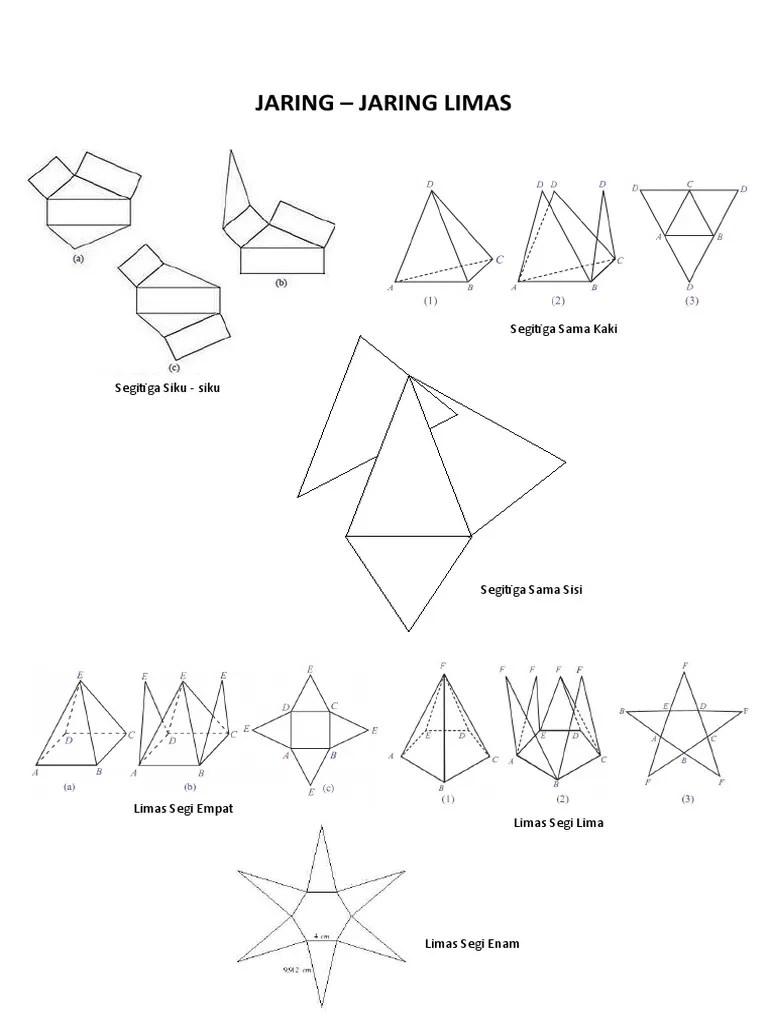Jaring Limas Segitiga : jaring, limas, segitiga, JARING, LIMAS