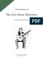 Nursery Rhymes For Classical Guitar