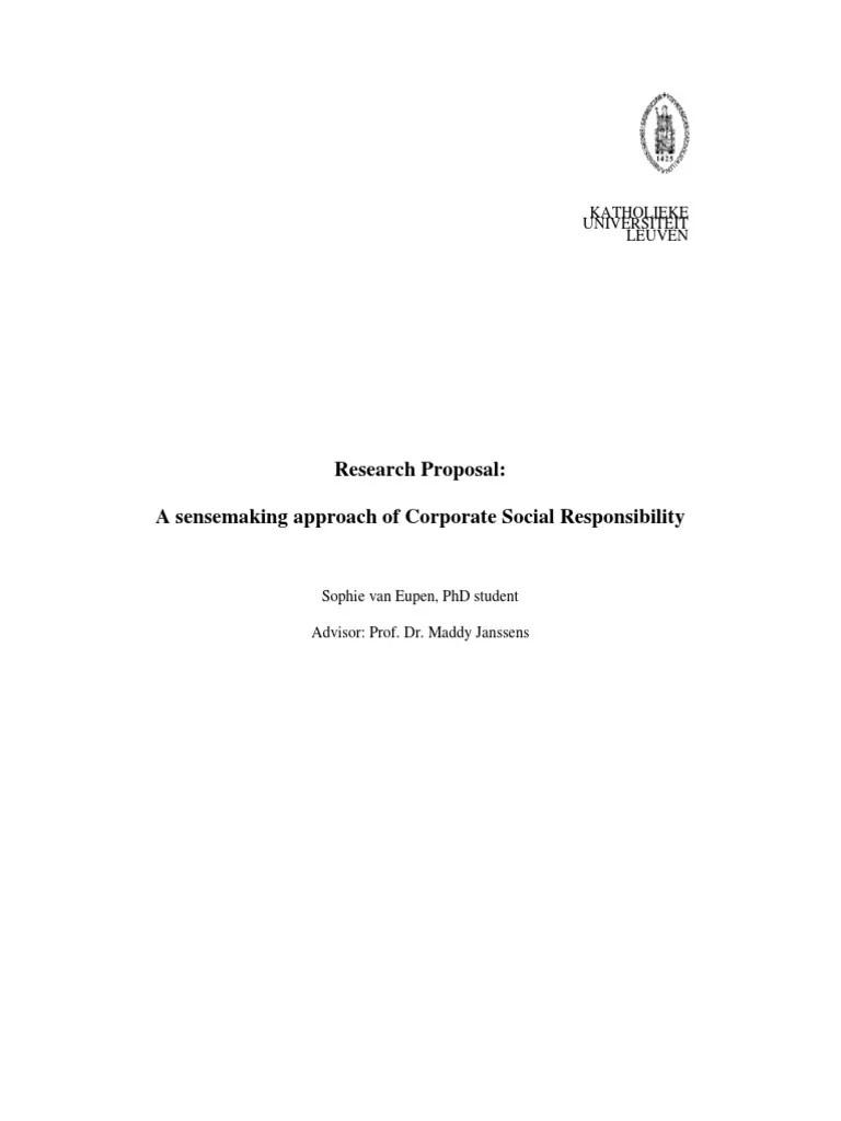 Contoh Proposal Csr Doc : contoh, proposal, Sample, Proposal, Corporate, Social, Responsibility, Study