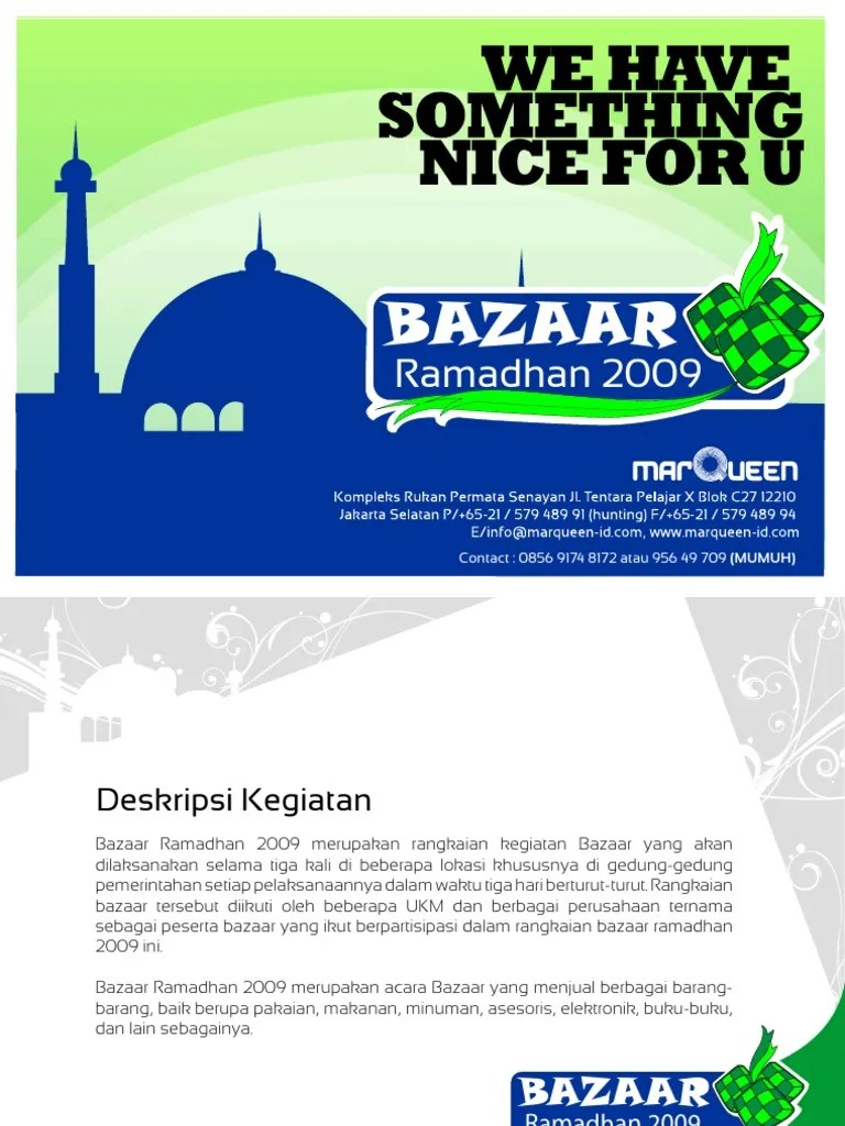 Contoh Proposal Event Bazaar : contoh, proposal, event, bazaar, Proposal, Bazaar