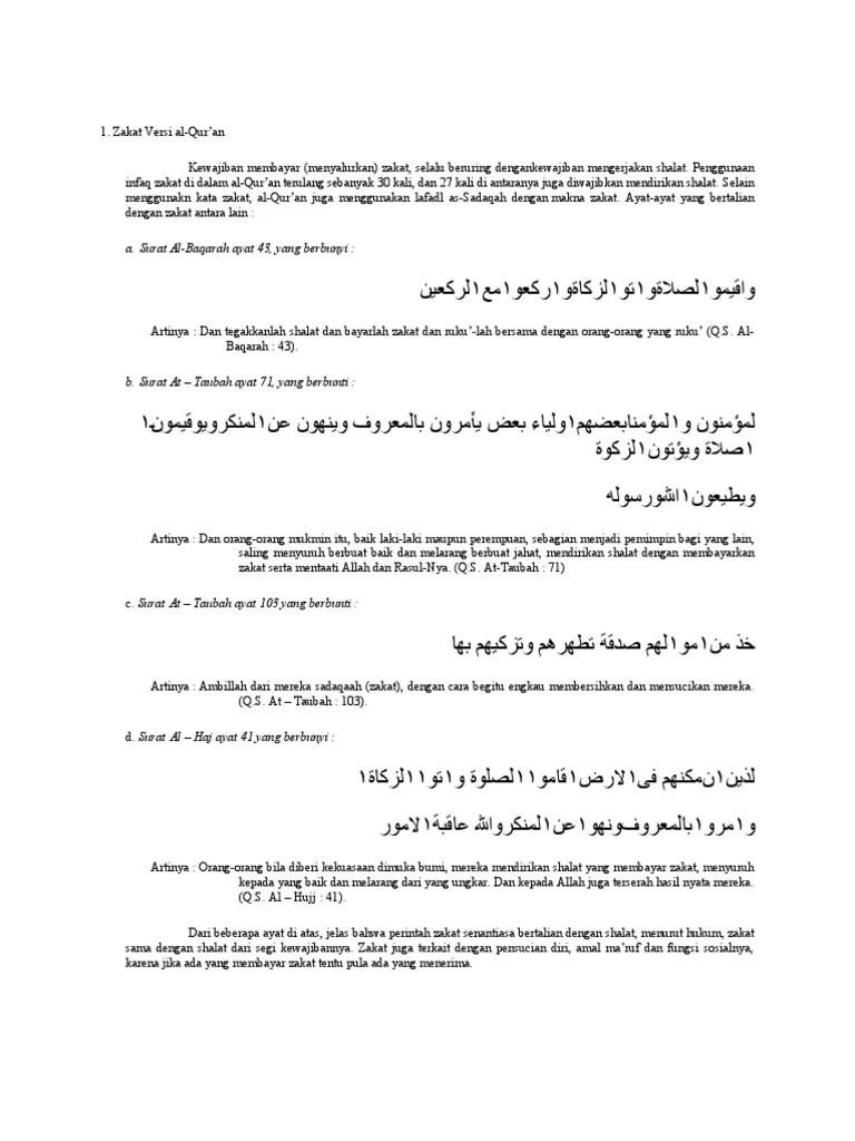 Ayat Tentang Perintah Zakat : tentang, perintah, zakat, Surat, Al-Baqarah, Berbunyi