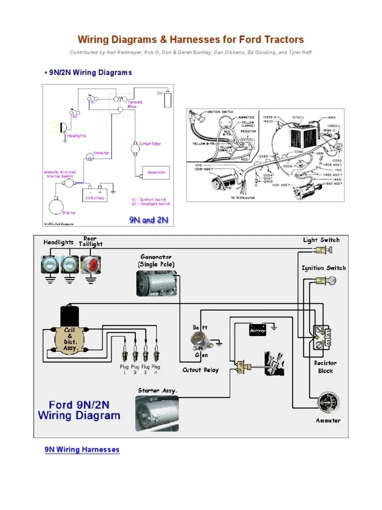 wiring diagrams for ford tractors2 pdf library 9n 2n wiring diagram 20 [ 768 x 1024 Pixel ]