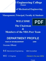 VR Engg College NBA | Curriculum | Educational Assessment