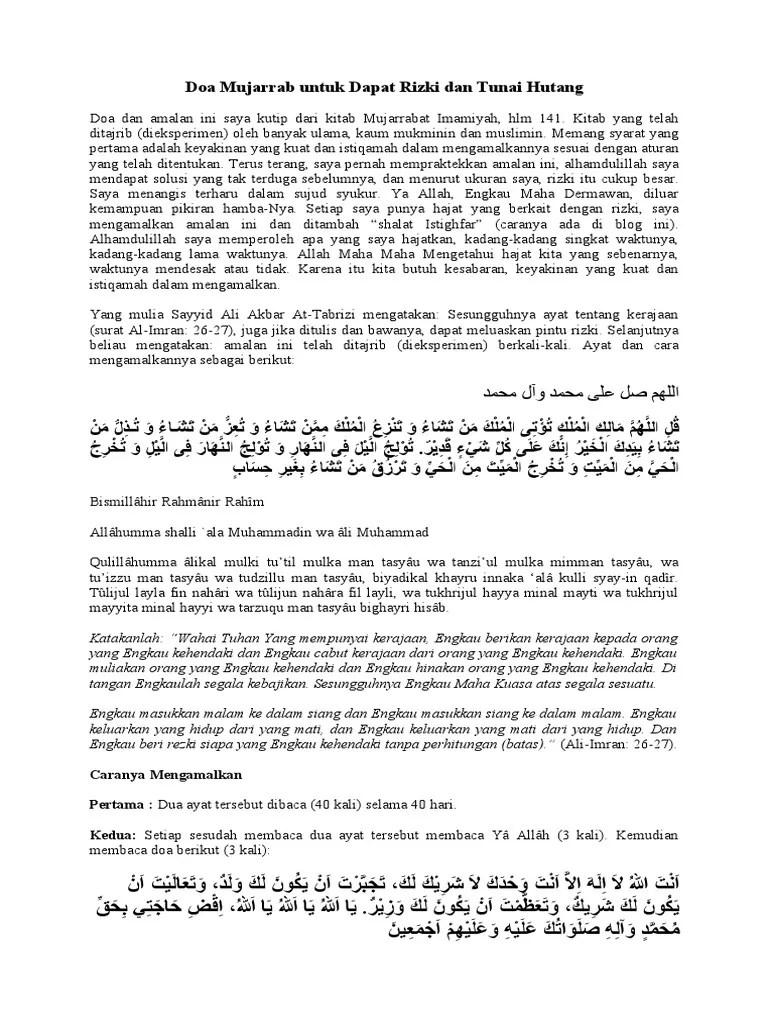 Al Imran Ayat 26 27 : imran, Mengamalkan, Surah, Imran, Jawaban