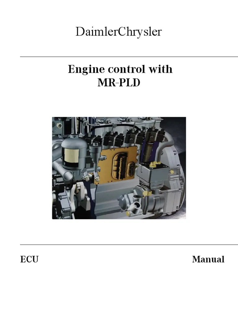 hight resolution of pld manual mercedes injectors fuel system electrical connector electrical wiring