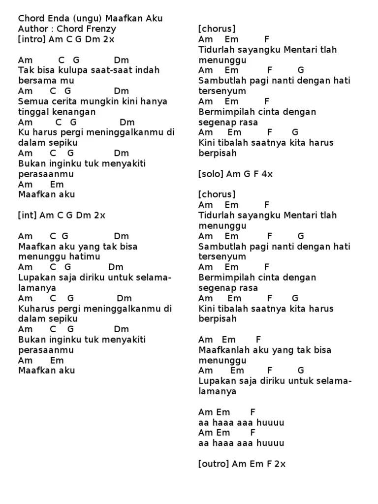 Chord Menunggu Pagi : chord, menunggu, Chord