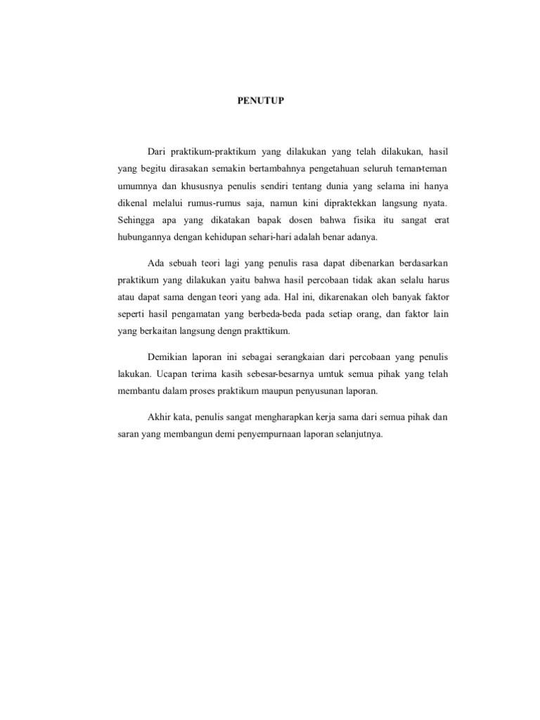 Contoh Penutup Makalah : contoh, penutup, makalah, Materi, Pelajaran, Contoh, Penutup, Laporan, Akhir