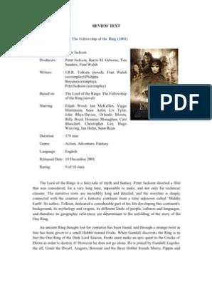 Contoh Text Review Film dalam Bahasa Inggris Beserta...