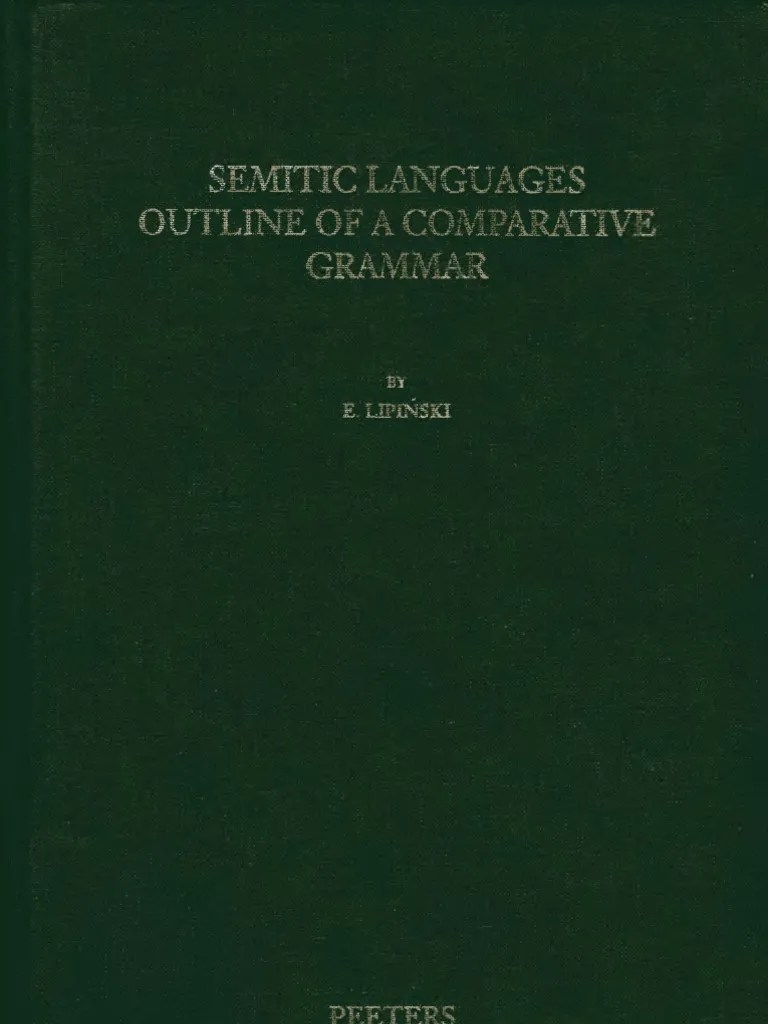 small resolution of lipinski semitic languages outline of a comparative grammar languages of asia languages of africa