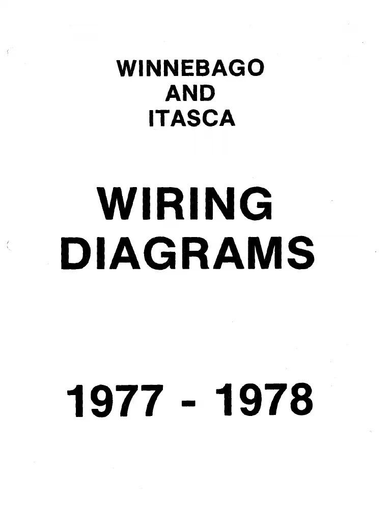 medium resolution of winnebago chieftain wiring diagram