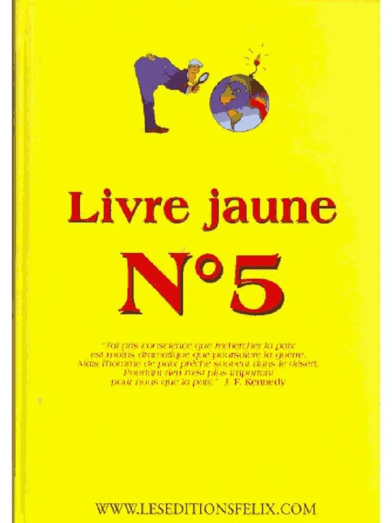Livre Jaune N°5 Pdf Gratuit : livre, jaune, gratuit, Livre, Jaune, Complet