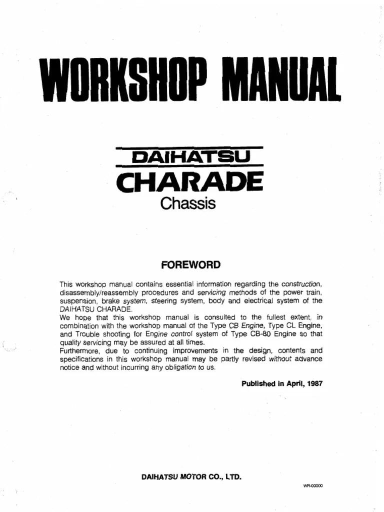 medium resolution of daihatsu charade g102 wiring diagram