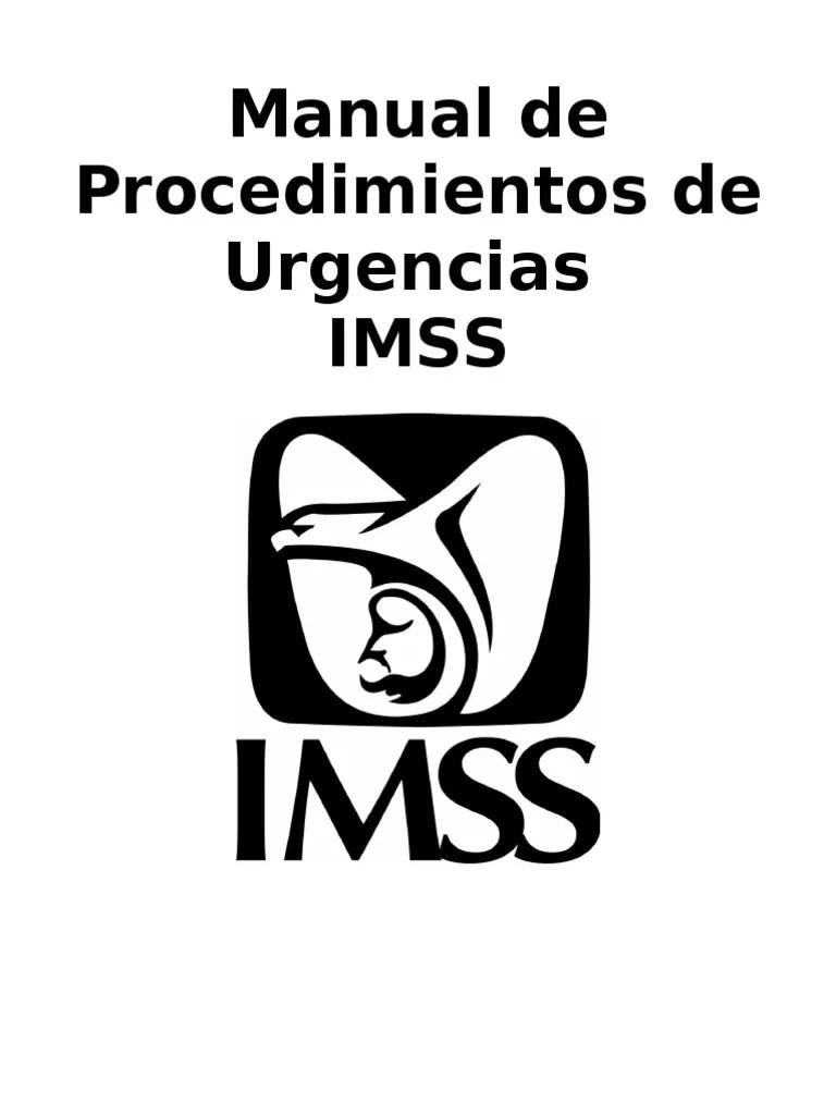 Manual de Procedimientos de Urgencias
