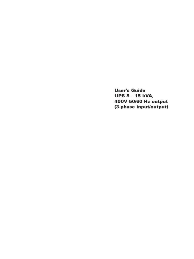 15 kva ups electrical wiring diagram [ 768 x 1024 Pixel ]