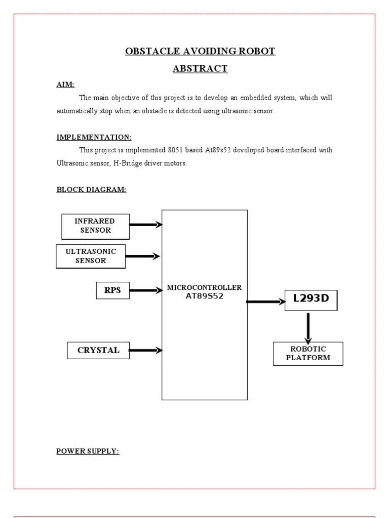 robot block diagram [ 768 x 1024 Pixel ]