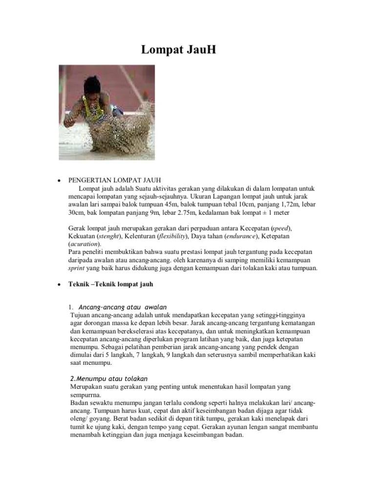 Ukuran Jarak Awalan Lapangan Lompat Jauh : ukuran, jarak, awalan, lapangan, lompat, Ukuran, Jarak, Awalan, Lapangan, Lompat