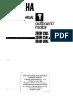 Tohatsu 2 Stroke Service Manual 1992 2000