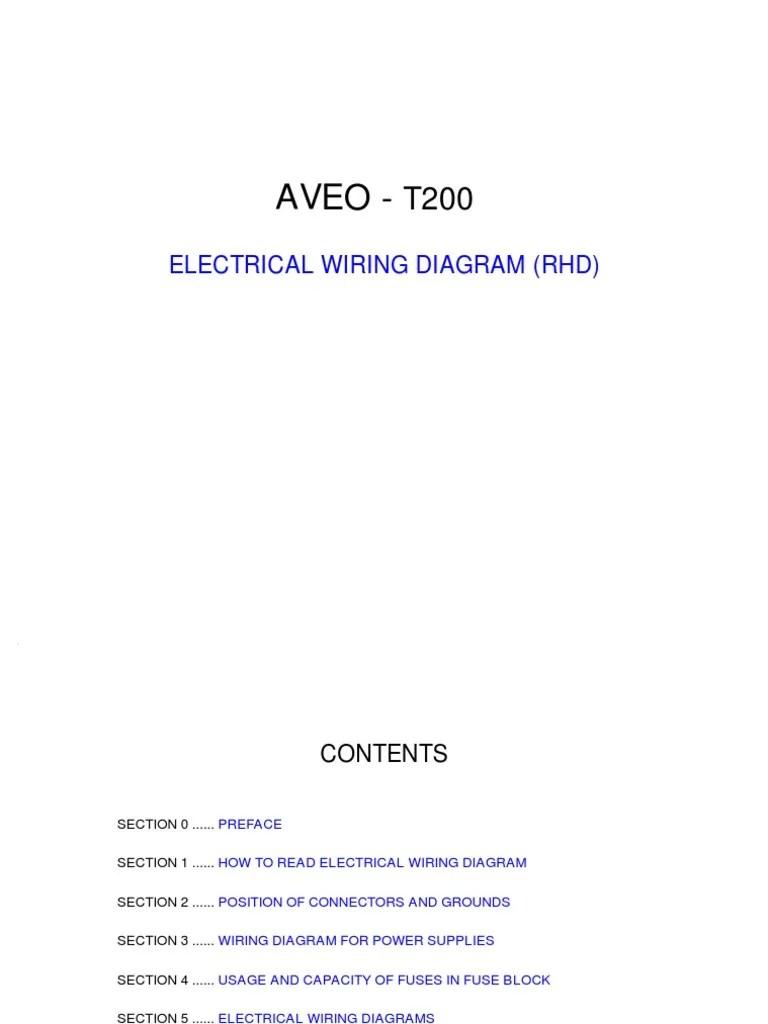 medium resolution of aveo electrical wiring diagram anti lock braking system electrical connector