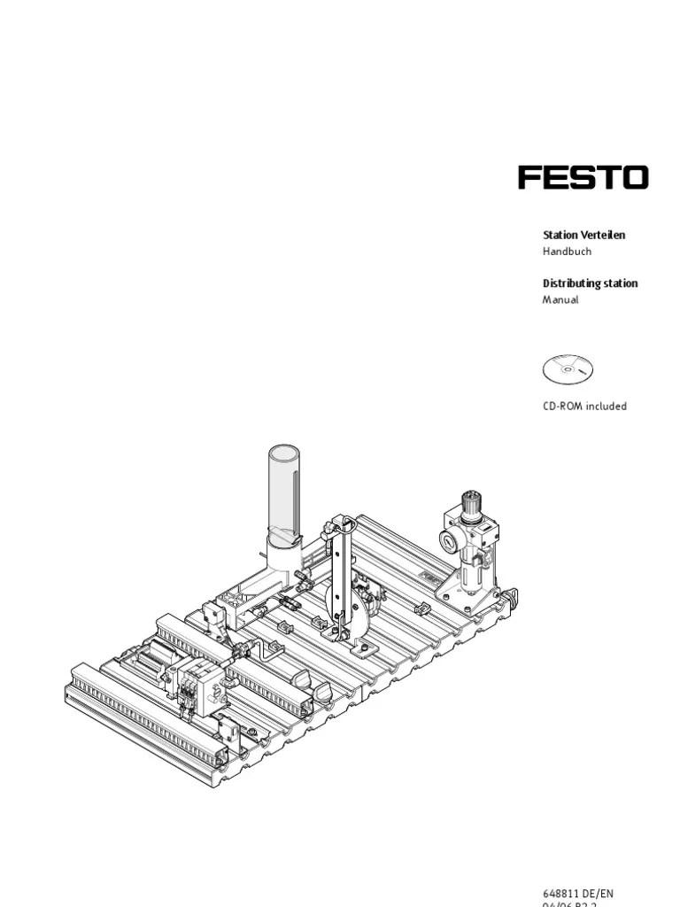 FESTO MPS Manual Distributing