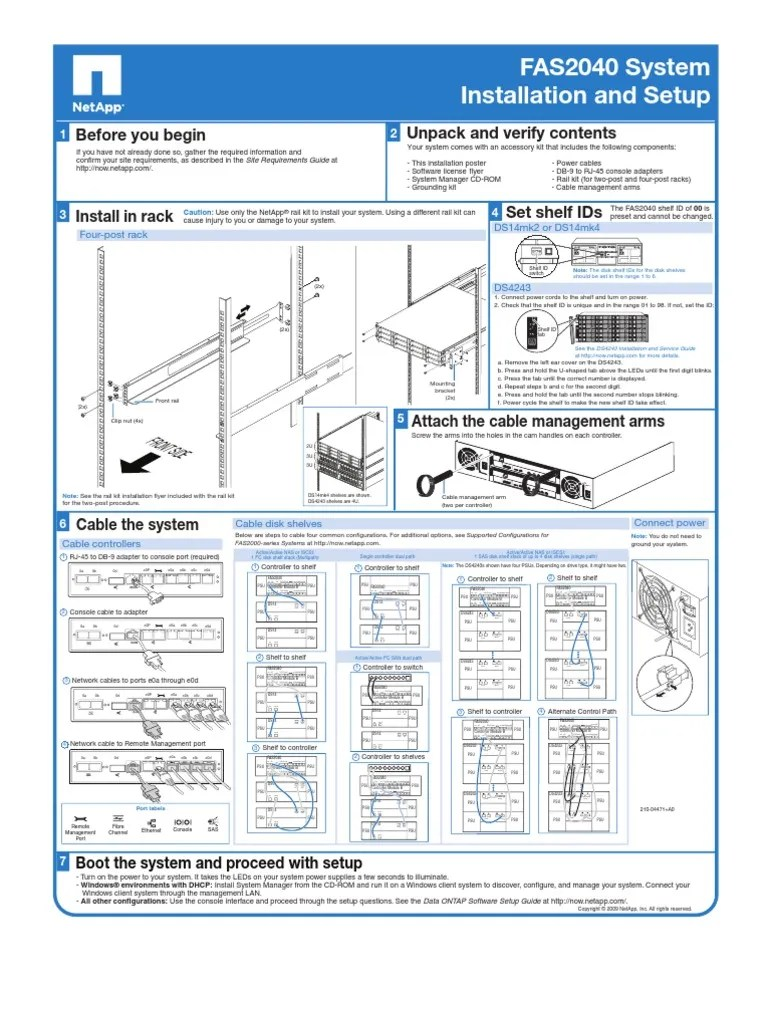 fas2040 install and setup diag computer architecture computer engineering [ 768 x 1024 Pixel ]