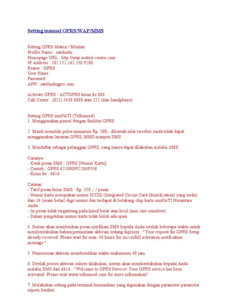 Setting Gprs Telkomsel Via Sms : setting, telkomsel, Heataseattopquality:, Daftar, Simpati, Lewat, Setting, Manual, Dengan, Menggunakan, Paket, Telepon, Kalian, Dapat, Membelinya, Denga, Harga, Cukup, Murah.