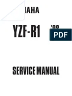 Yamaha R1 Service Manual 2007