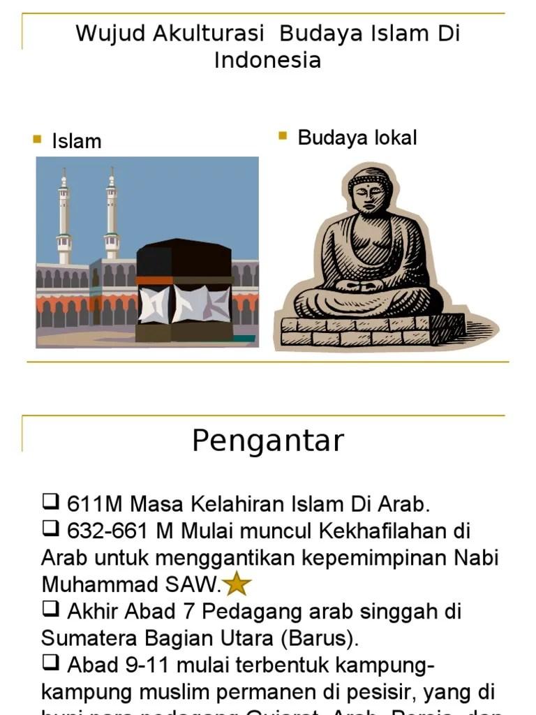 Akulturasi Budaya Di Indonesia : akulturasi, budaya, indonesia, 8567192, Wujud, Akulturasi, Budaya, Islam, Indonesia