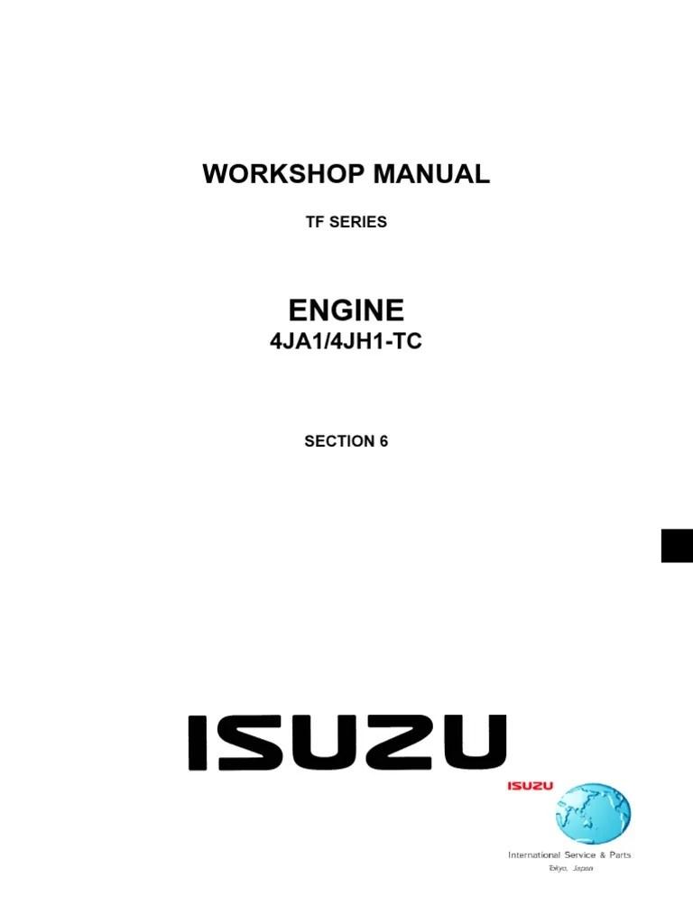 Manual Motor 4ja1