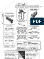 XEROX Phaser 6300, 6350, 6360 Parts List, Service Manual