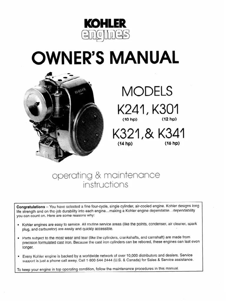 medium resolution of 14 hp kohler engine diagram