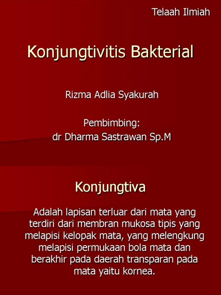 Konjungtivitis Bakteri Pdf : konjungtivitis, bakteri, Konjungtivitis, Bakterial