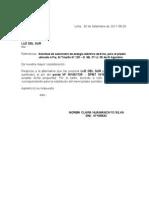 Carta Solicitud de Agua Para El Alcalde