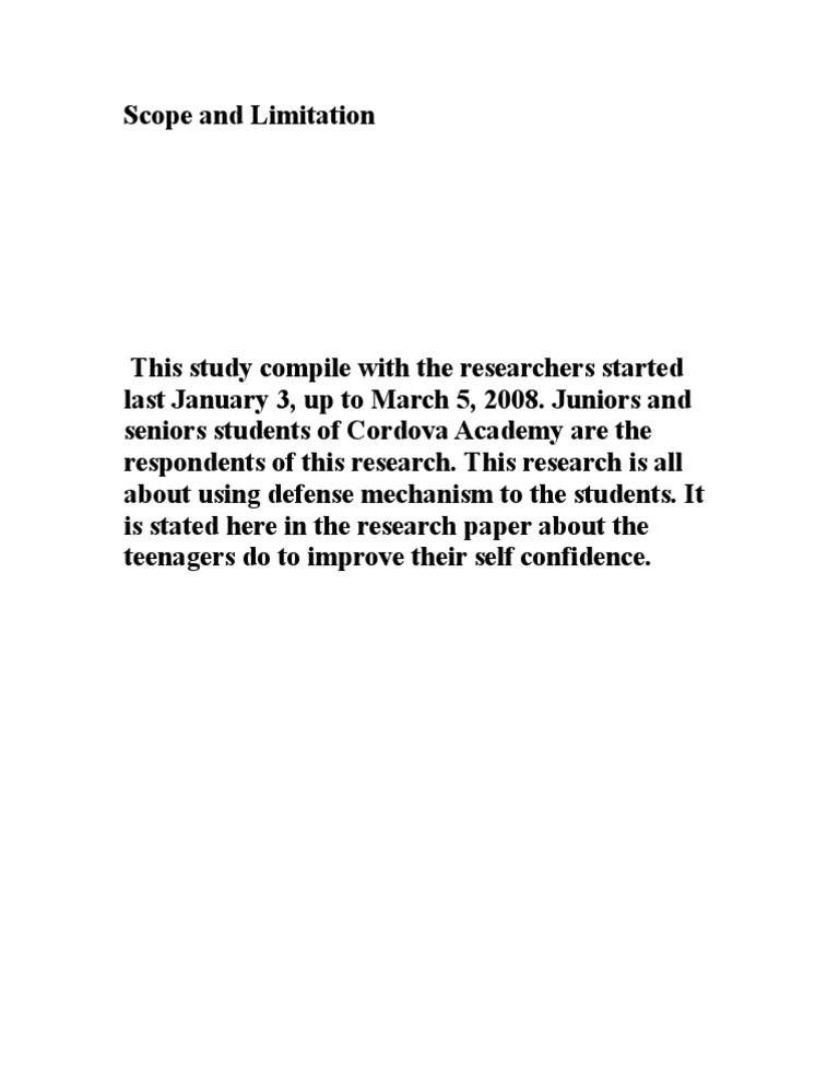 Write Scope Delimitation Research Paper Essay Writing Service