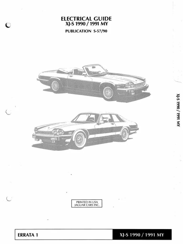 hight resolution of 1991 jaguar xj wiring diagram pdf