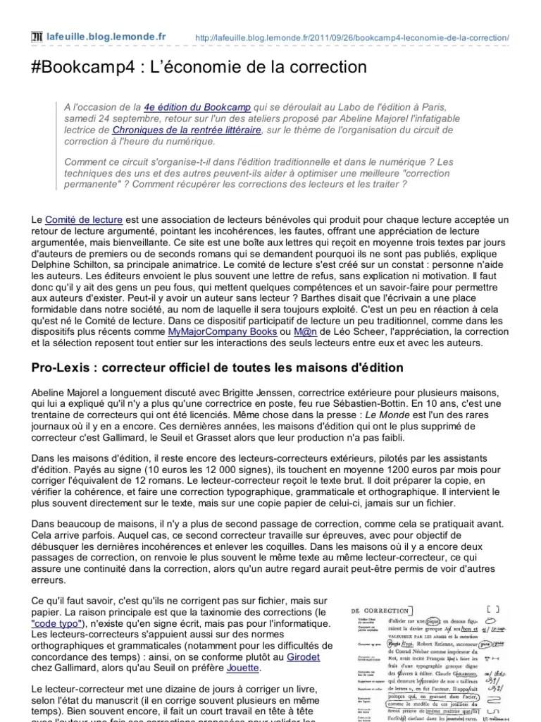 Liste Des Correcteurs De Manuscrits : liste, correcteurs, manuscrits, Bookcamp4, économie, Correction, Impression, Livres
