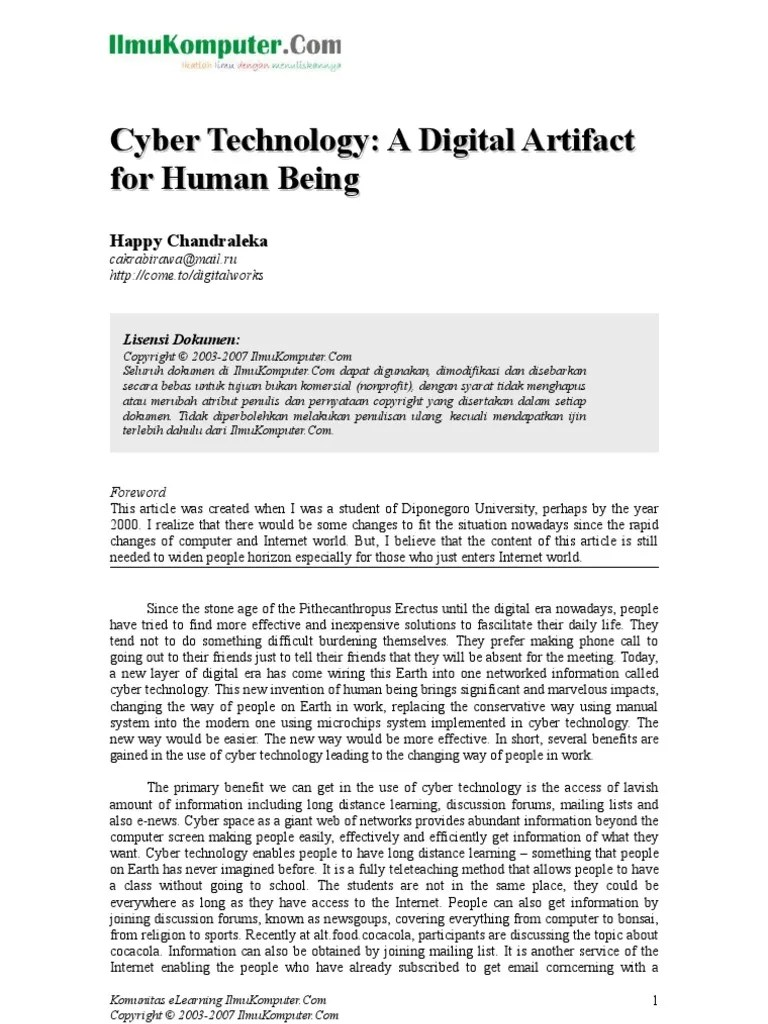 Menghapus Mail.ru : menghapus, mail.ru, Cyber, Technology:, Digital, Artifact, Human, Being, Commerce, Internet