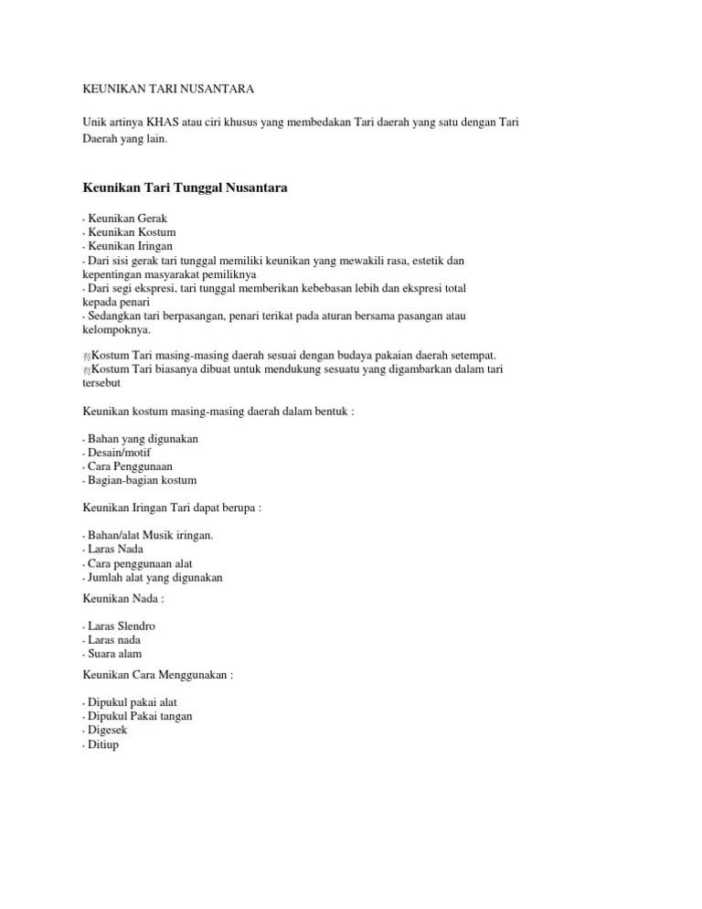 Seni Tari: Pengertian, Ciri, Fungsi, Unsur, Jenis, Contoh