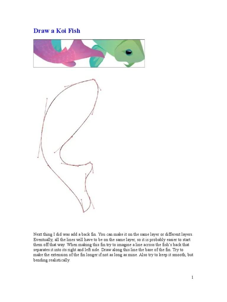koi fish diagram [ 768 x 1024 Pixel ]