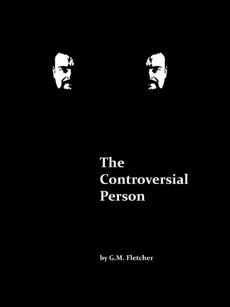 The Controversial Person   Jurisprudence   Definition