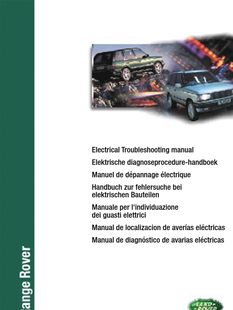 hight resolution of electronic troubleshooting manual rr p38 eng fuel injection ignition system