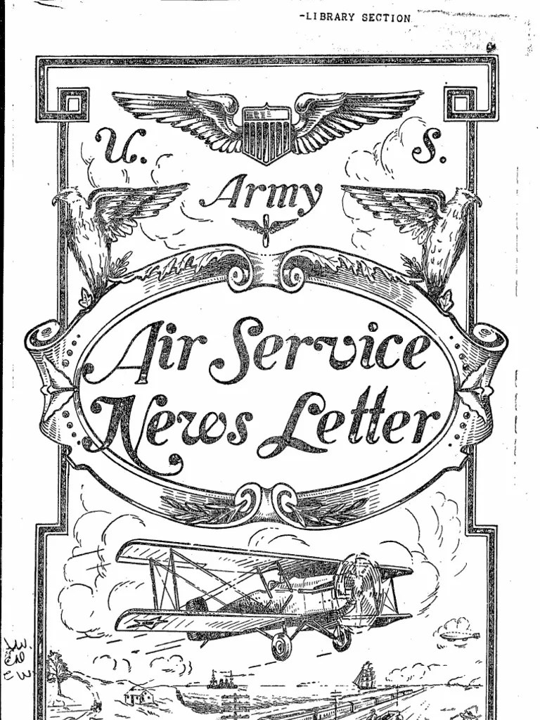 Air force news jul dec 1925 united states air force united states army air corps